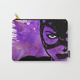 Catwoman Stencil Carry-All Pouch