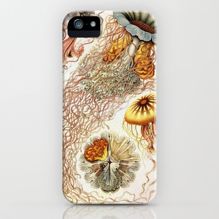 SEA CREATURES COLLAGE-Ernst Haeckel iPhone Case