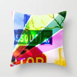 Multi-Colored Missouri Throw Pillow