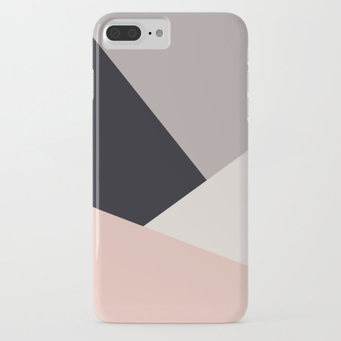 Elegant & colorful geometric iPhone Case