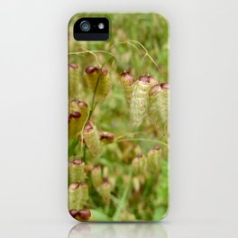 Poddy Plants iPhone Case