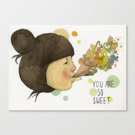 SWEET YOU  Canvas Print