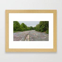 Graffiti Highway Framed Art Print