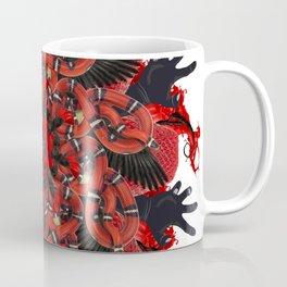 red halloween mandala Coffee Mug