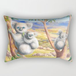 Koala and Joey Rectangular Pillow
