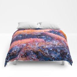 Koi Fish Abstract Comforters