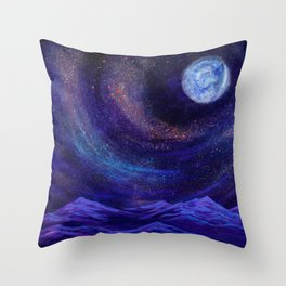 We Are The Creators, Cosmic Series Throw Pillow