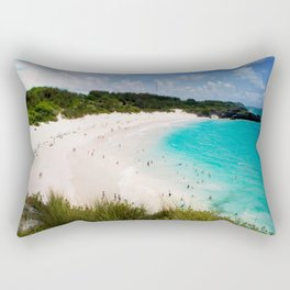 Bermuda Costal Beach Rectangular Pillow