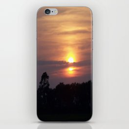 Sunset in Hilton Head iPhone Skin