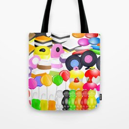 Tasty Candy Treats Tote Bag