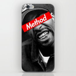 METHOD MAN WU TANG DESIGN iPhone Skin