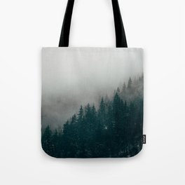 The Mist Tote Bag