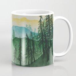 Mountains and Trees Coffee Mug