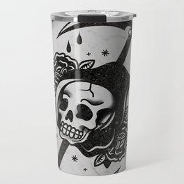 Death - La Morte - Tarot Card Travel Mug