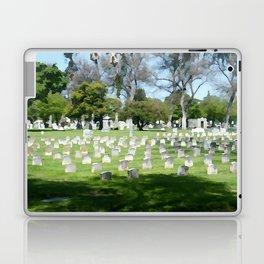 OAK KNOLL CEMETERY 027 Laptop & iPad Skin