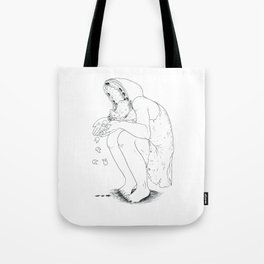 Nightmare tooth loss Tote Bag
