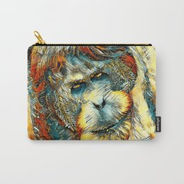 AnimalArt_OrangUtan_20170901_by_JAMColorsSpecial Carry-All Pouch