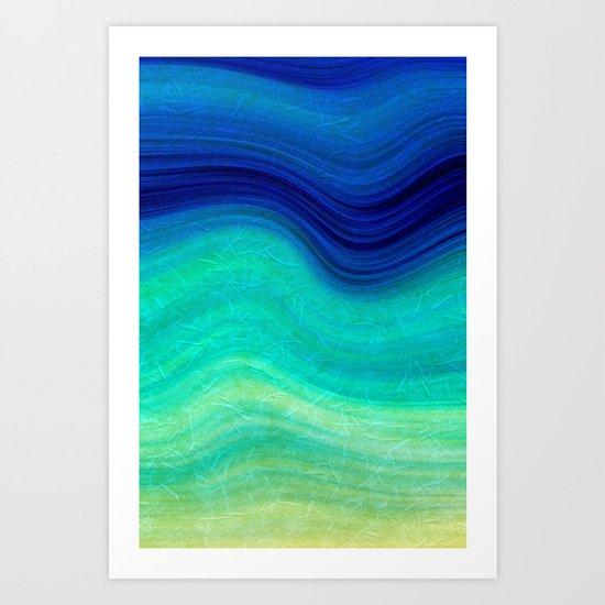 SEA BEAUTY 3 Art Print