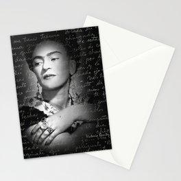 FRIDA KAHLO LETTER Stationery Cards