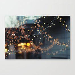 Let's Get Lost Canvas Print