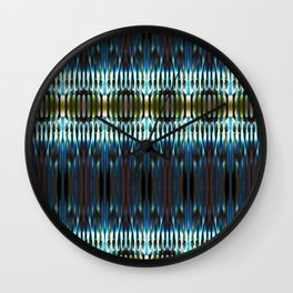 Meeting of the Society for the Advancement of Electric Q-Tips Wall Clock
