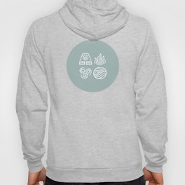 Bending All Four Elements – Water Hoody