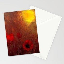 FLOWERS - Poppy heaven Stationery Cards