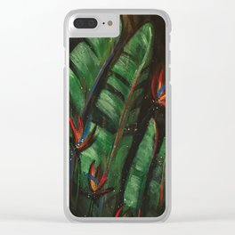 Another Day in Paradise Clear iPhone Case