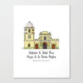 Divina Pastora Canvas Print