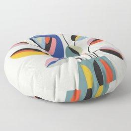 Rubberplant Floor Pillow