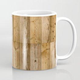 Wood Planks Dark Coffee Mug