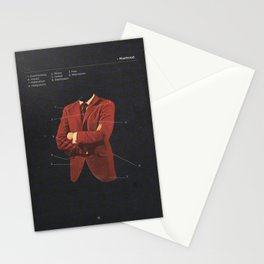 Manhood Stationery Cards