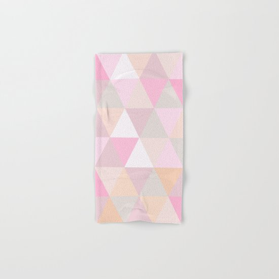 CANDY TRIANGLE Hand & Bath Towel