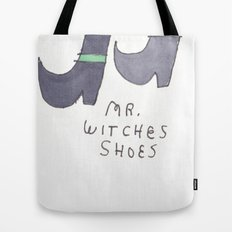 MR WITCHES SHOES. Tote Bag