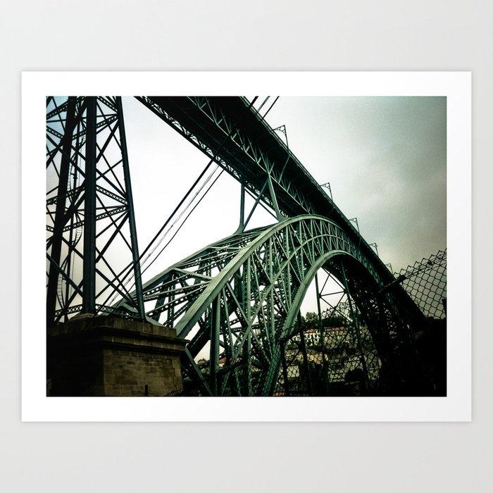 Structure Bridge Art Print
