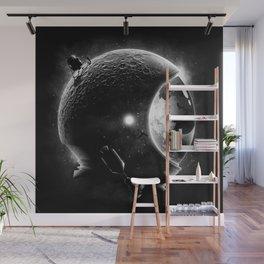 Moon's Helmet Wall Mural