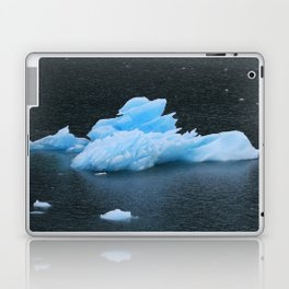 Blue Icebergs Of Alaska Glacier Laptop & iPad Skin