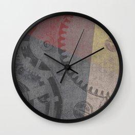 Geometric industrial Wall Clock