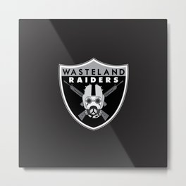 Wasteland Raiders Metal Print