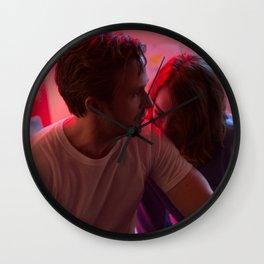 La La Land neon light Wall Clock