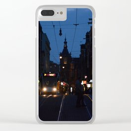 Amsterdam Nights Clear iPhone Case