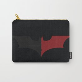 Against Evil (dark-red) Carry-All Pouch