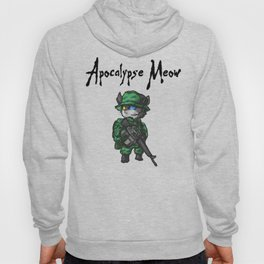 Apocalypse Meow Funny Cat Shirt Apocalypse Now Movie Spoof Hoody