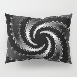 Dark Vortex Fractal Pillow Sham