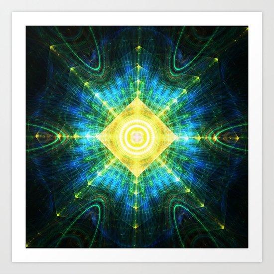Eye of the Pyramid Art Print