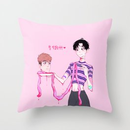 killing stalking Throw Pillow