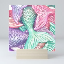 Mermaid Tails Mini Art Print