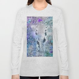 ELEPHANT IN THE STARRY LAKE Long Sleeve T-shirt