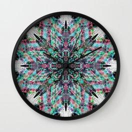 Pink n blue Wall Clock