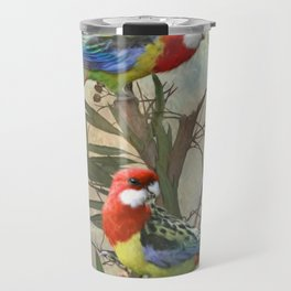 Eastern Rosella  Travel Mug
